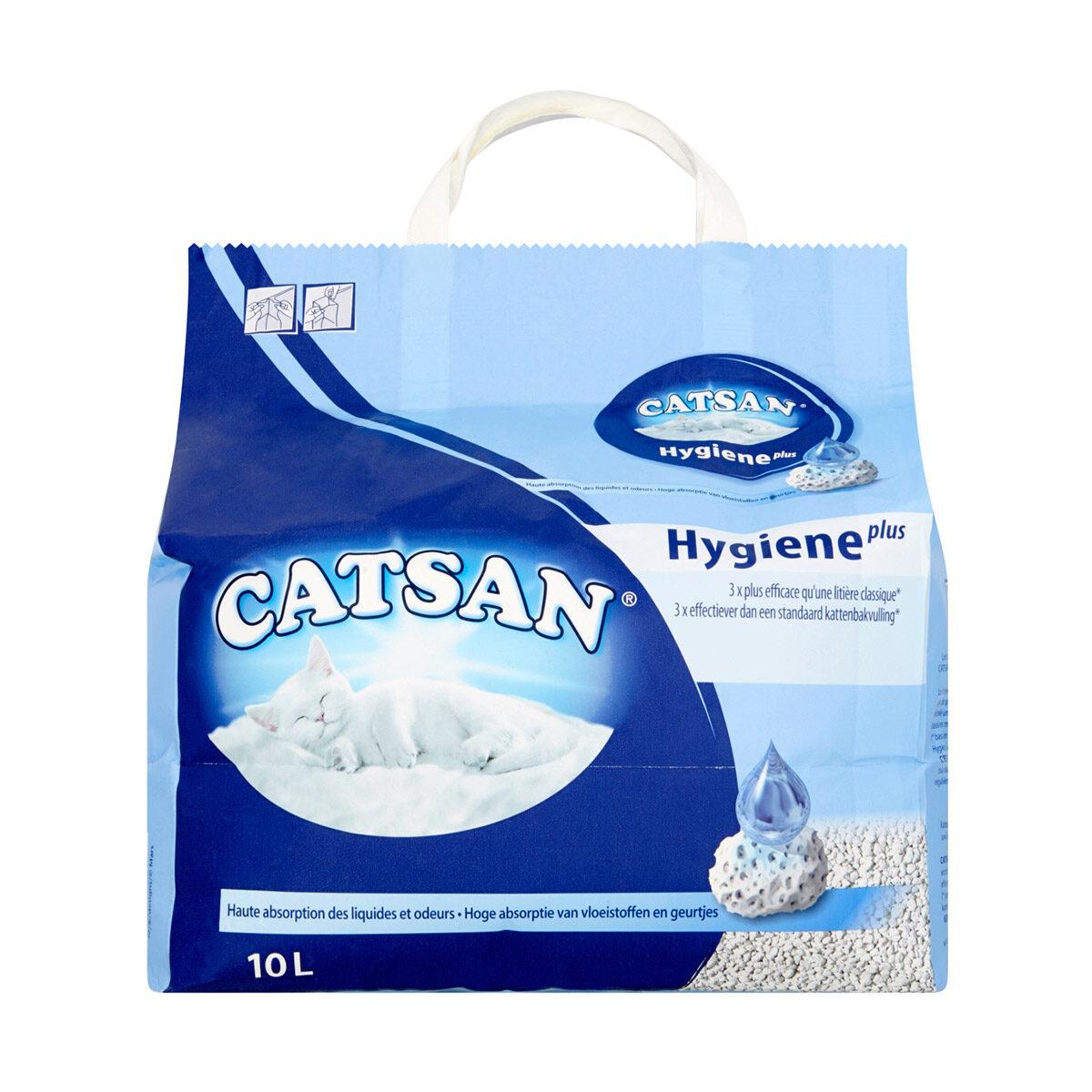Catsan Hygiëne Plus Kattenbakvulling 10 liter