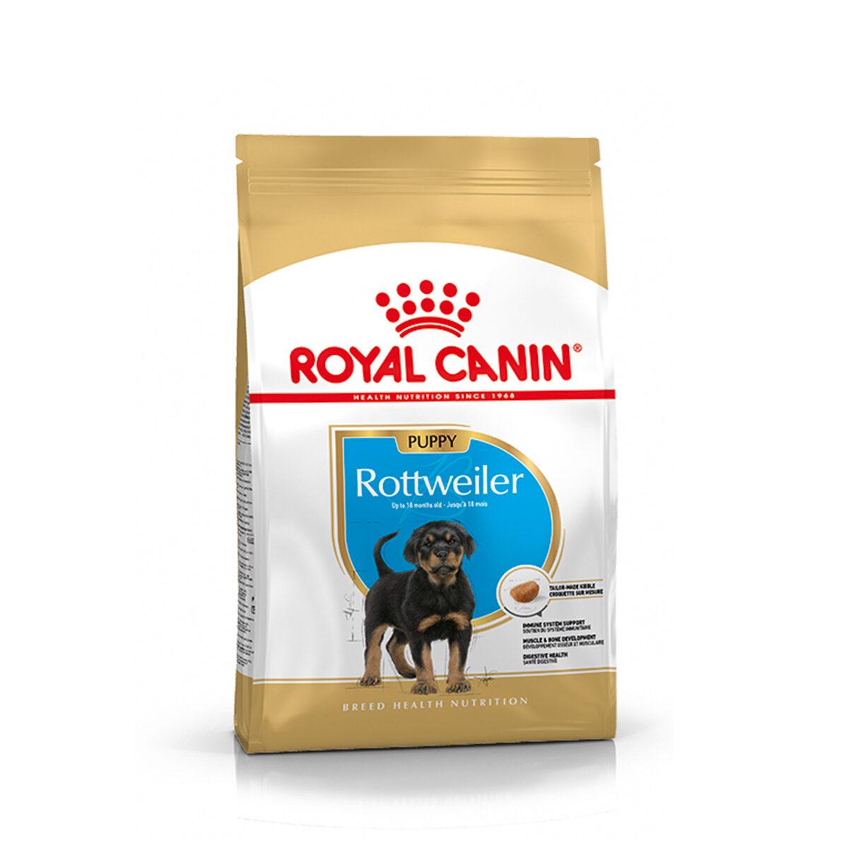 Royal Canin Rottweiler Hondenvoer Puppy 3kg