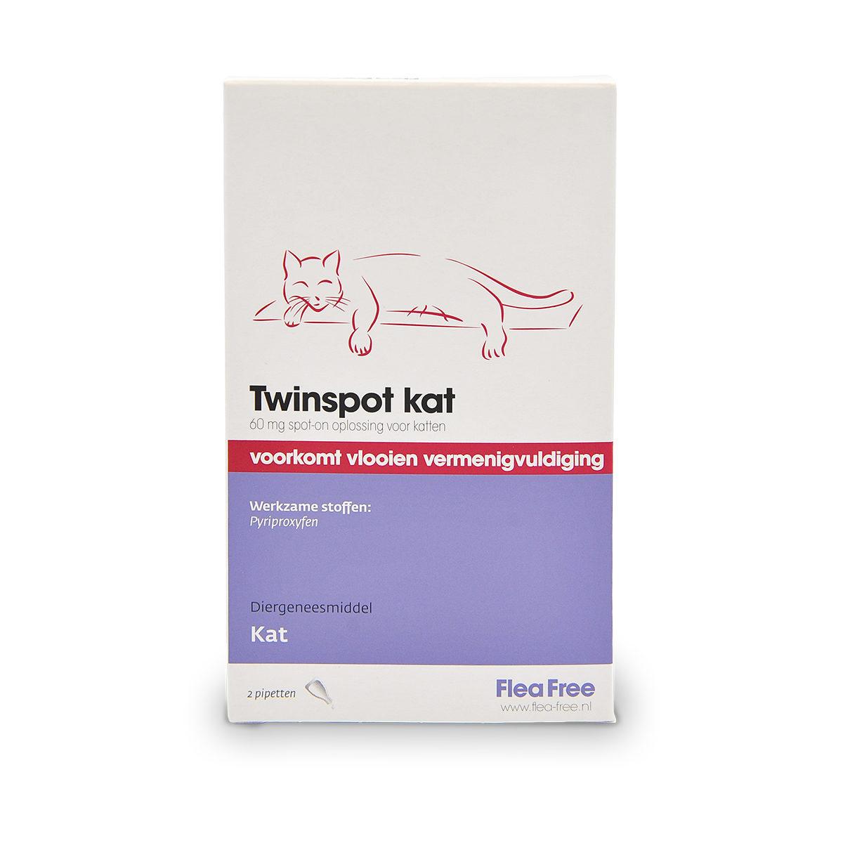 Flea Free Twinspot Kat 2 Pipetten