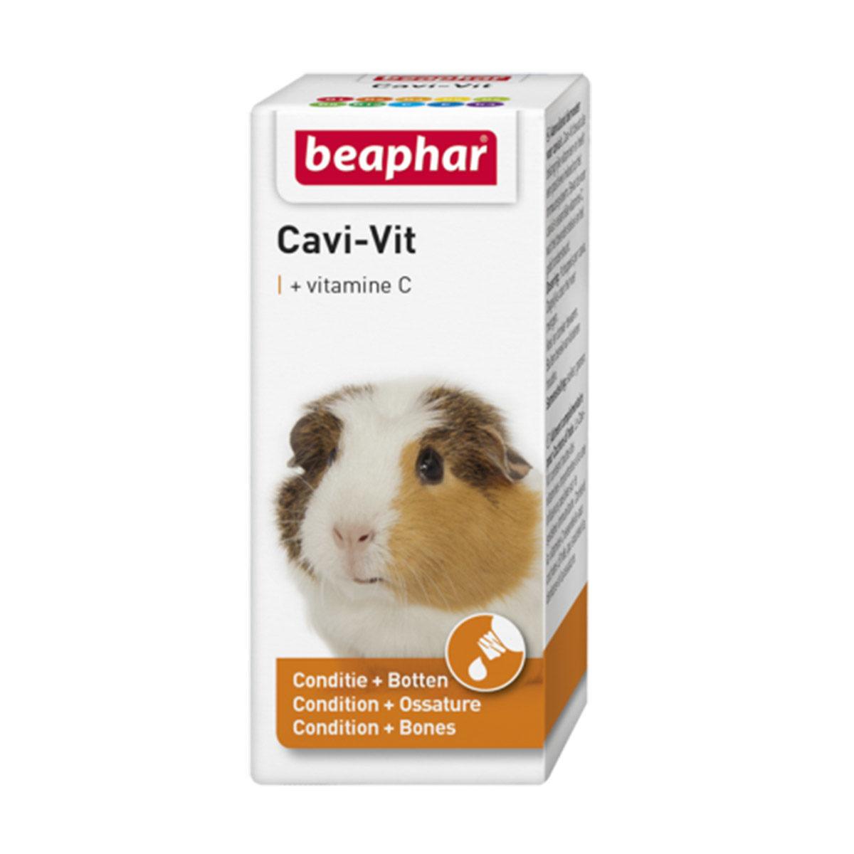 Beaphar Cavi-Vit Multivitamin 50 ml - in Knaagdieren