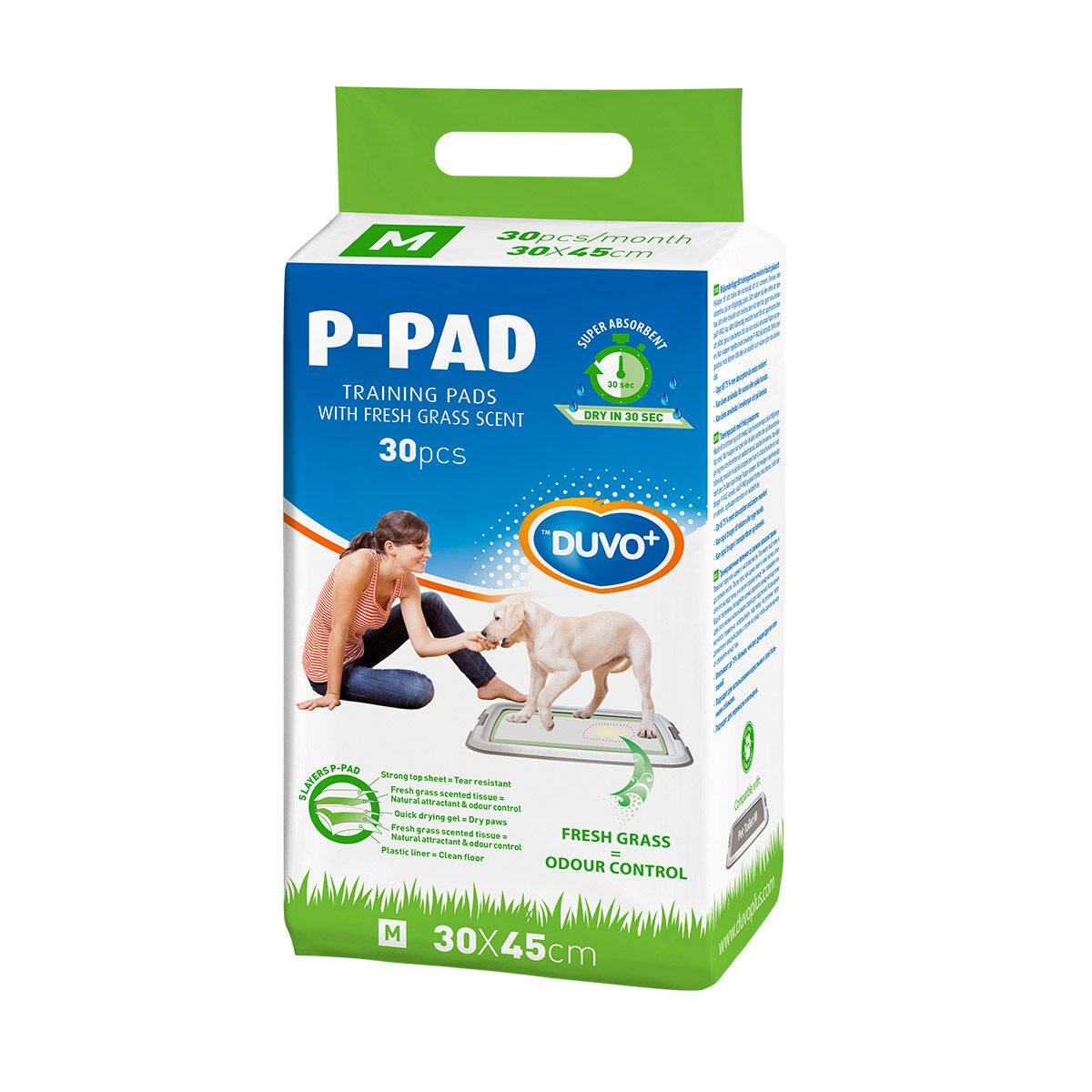 Duvo+ Puppy Training Pads Fresh Grass M 30x45cm - in Trainingshulpen