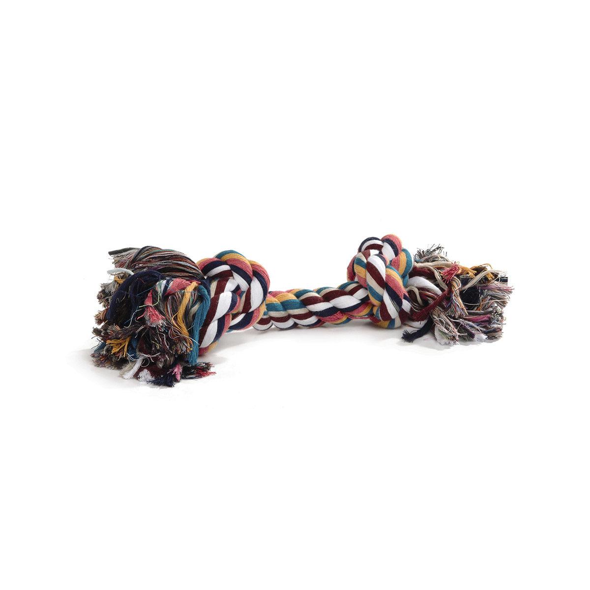 Beeztees Flostouw 4 Knopen Hondenspeelgoed 360gr Gekleurd