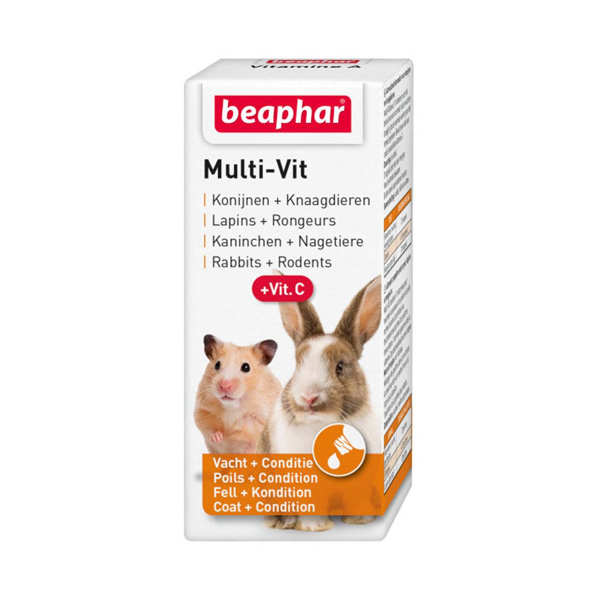 Beaphar Multi Vit Knaagdier 20 ml