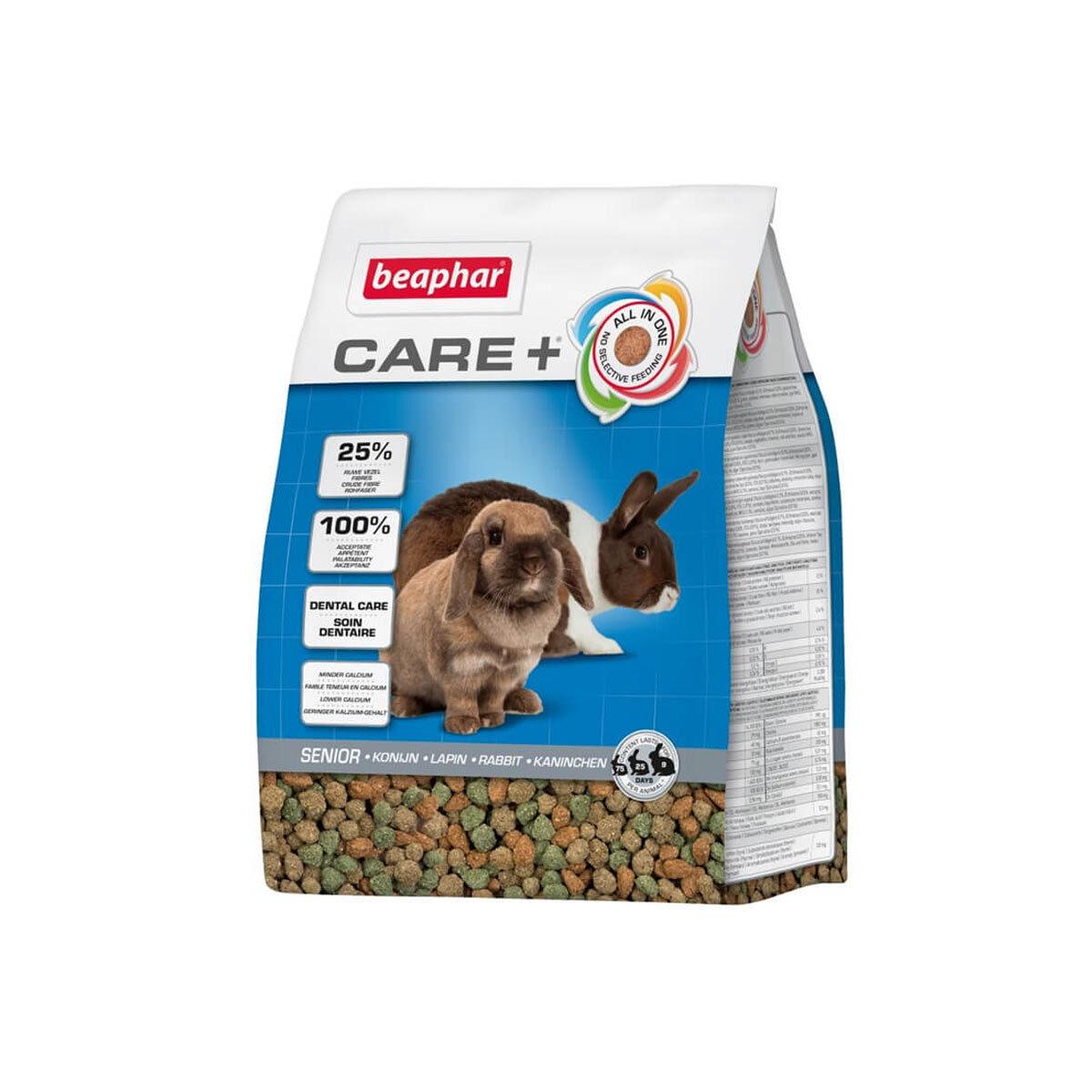 Care+ Konijnenvoer Senior 1,5 kg