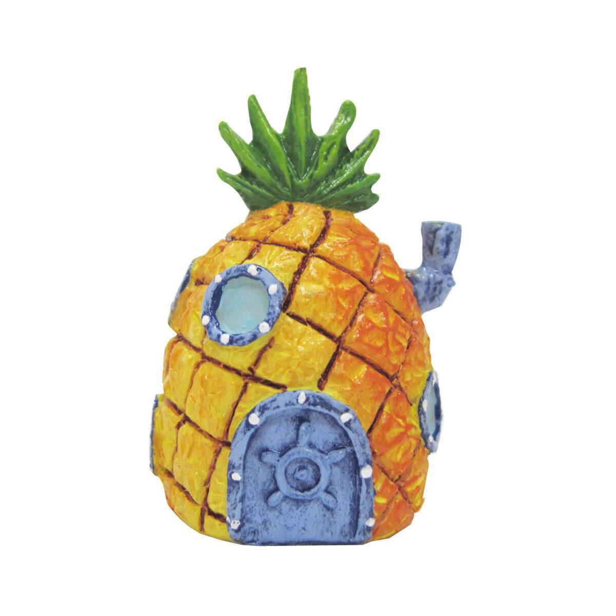 Penn Plax Ornamenten Spongebob - Ananas-Huis 14cm - in Decoratie