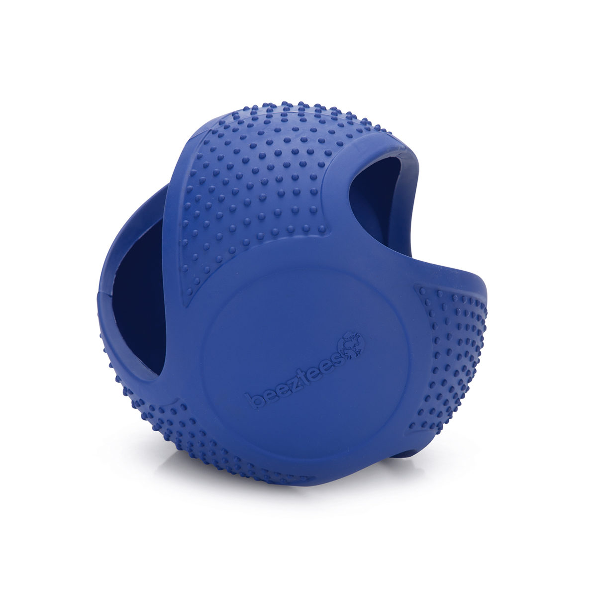 Beeztees Fetch Rubber Hondenspeelgoed Frisbee Bal 16cm Blauw