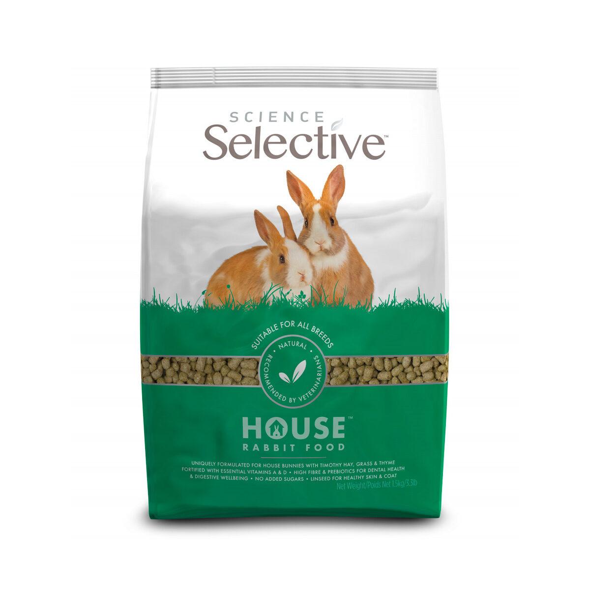 Supreme Selective House Rabbit Konijnenvoer 1,5 kg