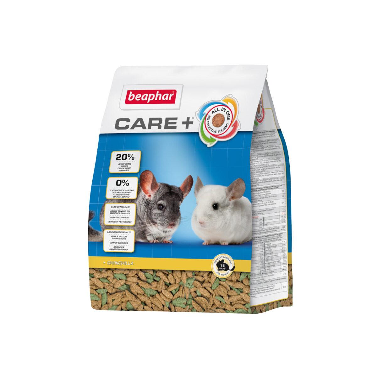 Care+ Chinchillavoer 1,5 kg
