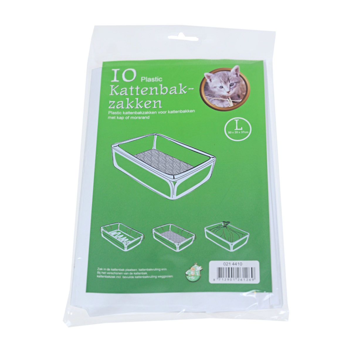 Kattenbakzakken 1 Pak Groot - in Kattenbakken & kattenbakaccessoires