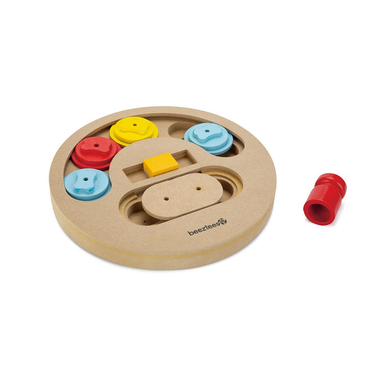 Beeztees Houten Trainingsspel Hondenpuzzel Sambo 23cm - in Snacks