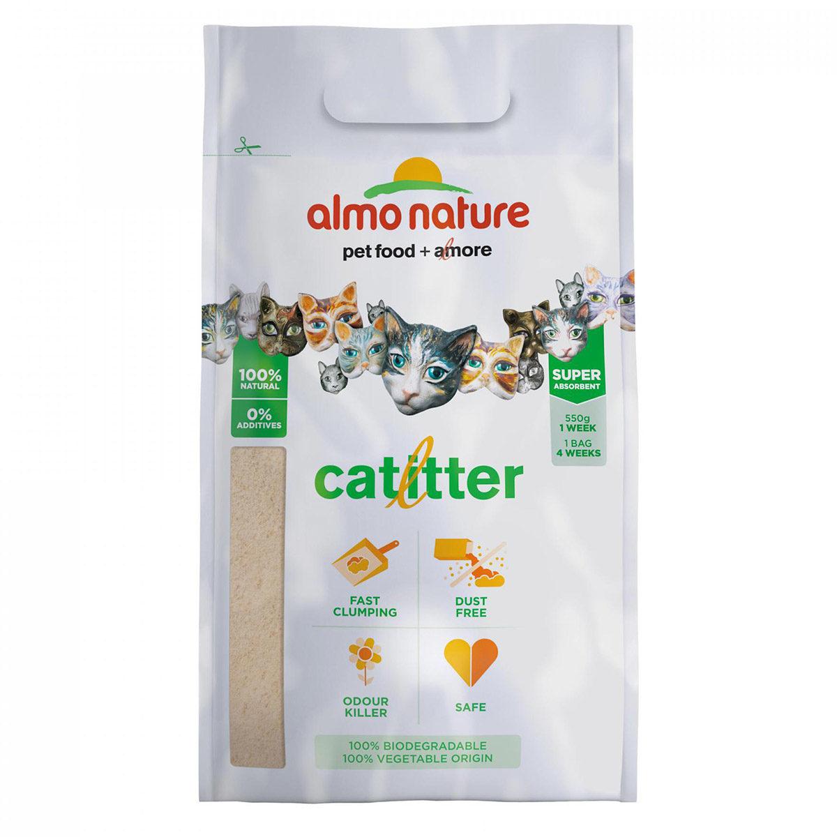 Almo Nature Catlitter Kattenbakvulling 4,54 kg