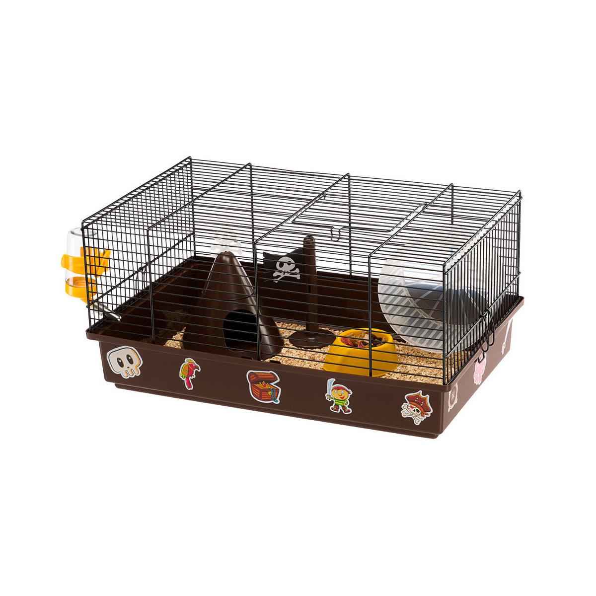 Ferplast Criceti 9 Hamsterkooi 46x29,5x23cm Pirates