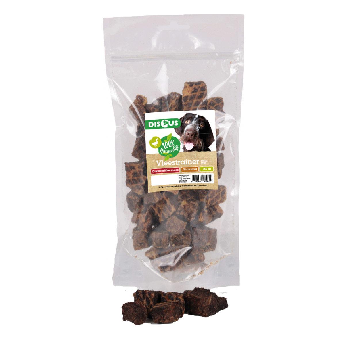 Discus Vleestrainer Grof Eend Hondensnack 150 gram - in Snacks