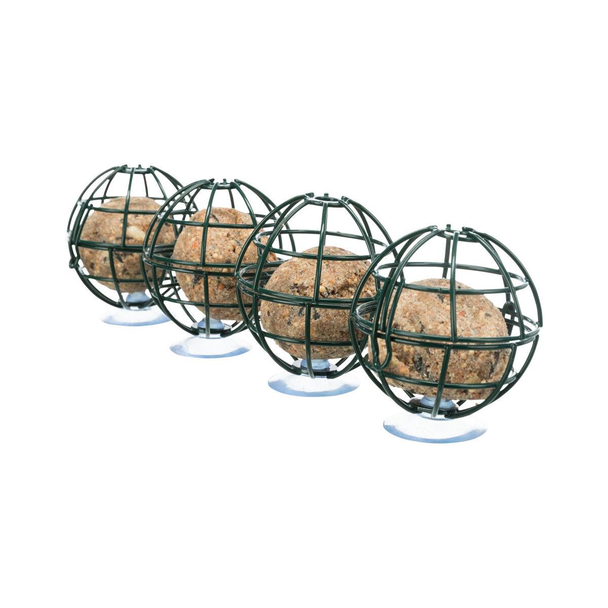 Trixie Mezenbollenhouder voor Vensterruit Donkergroen ⌀7x29 cm - in Voederplekken