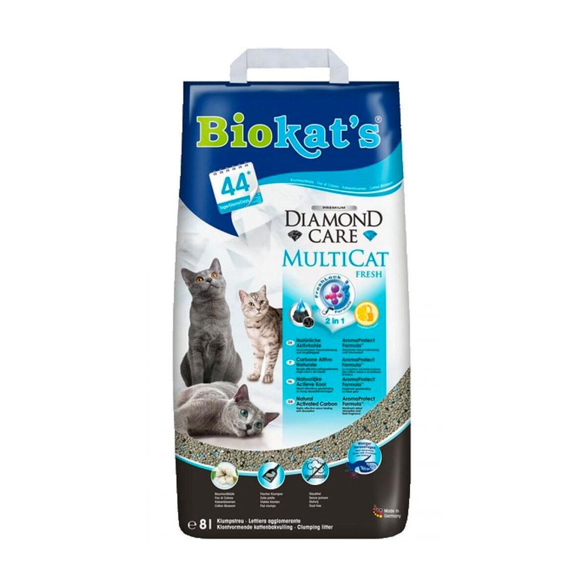 Biokat's Kattenbakvulling Multi Cat 8L