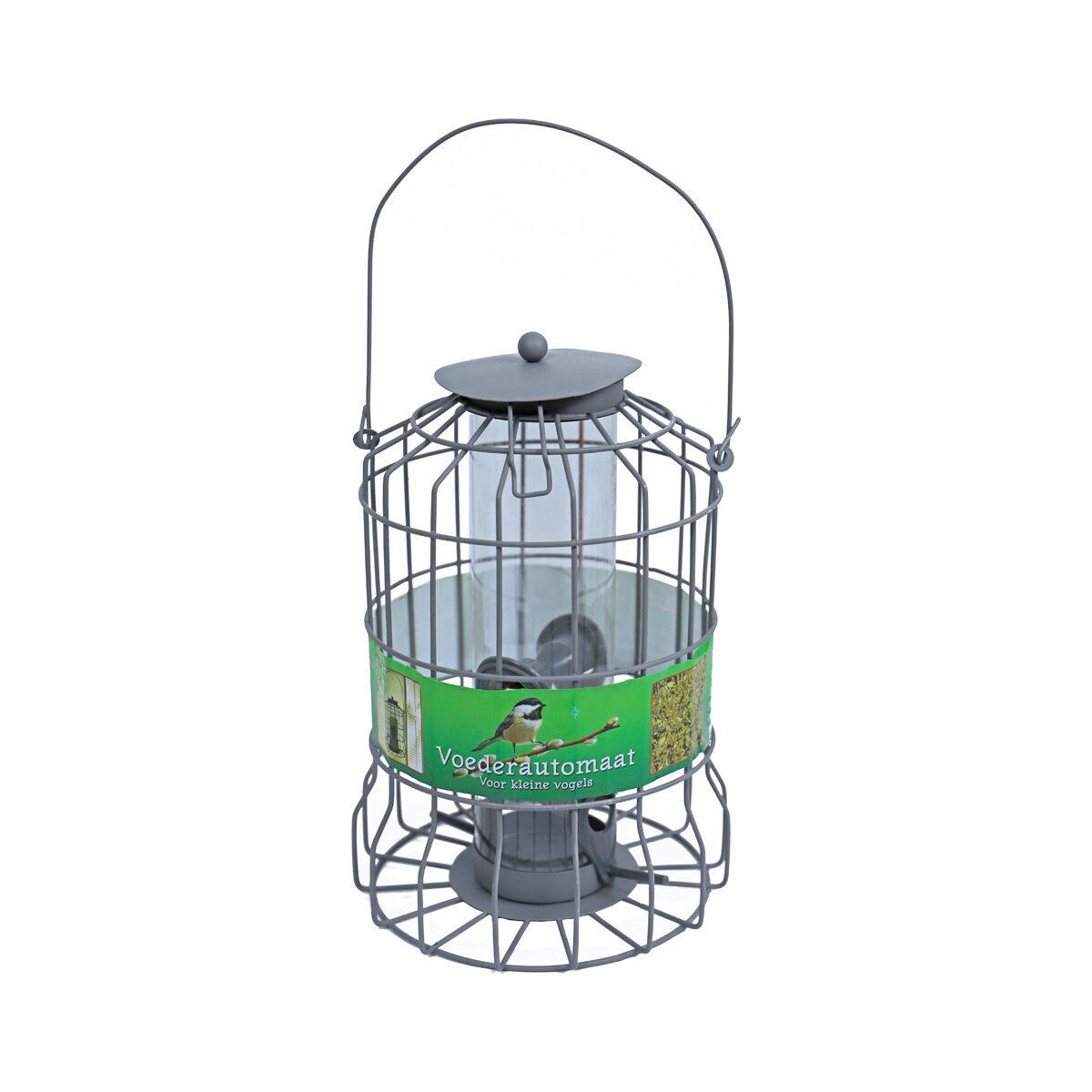 Voederautomaat Metaal Ophangbaar Grijs 24x17cm