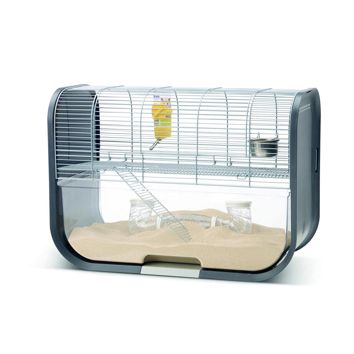 Hamsterkooi Geneva 60x29x44cm Antraciet