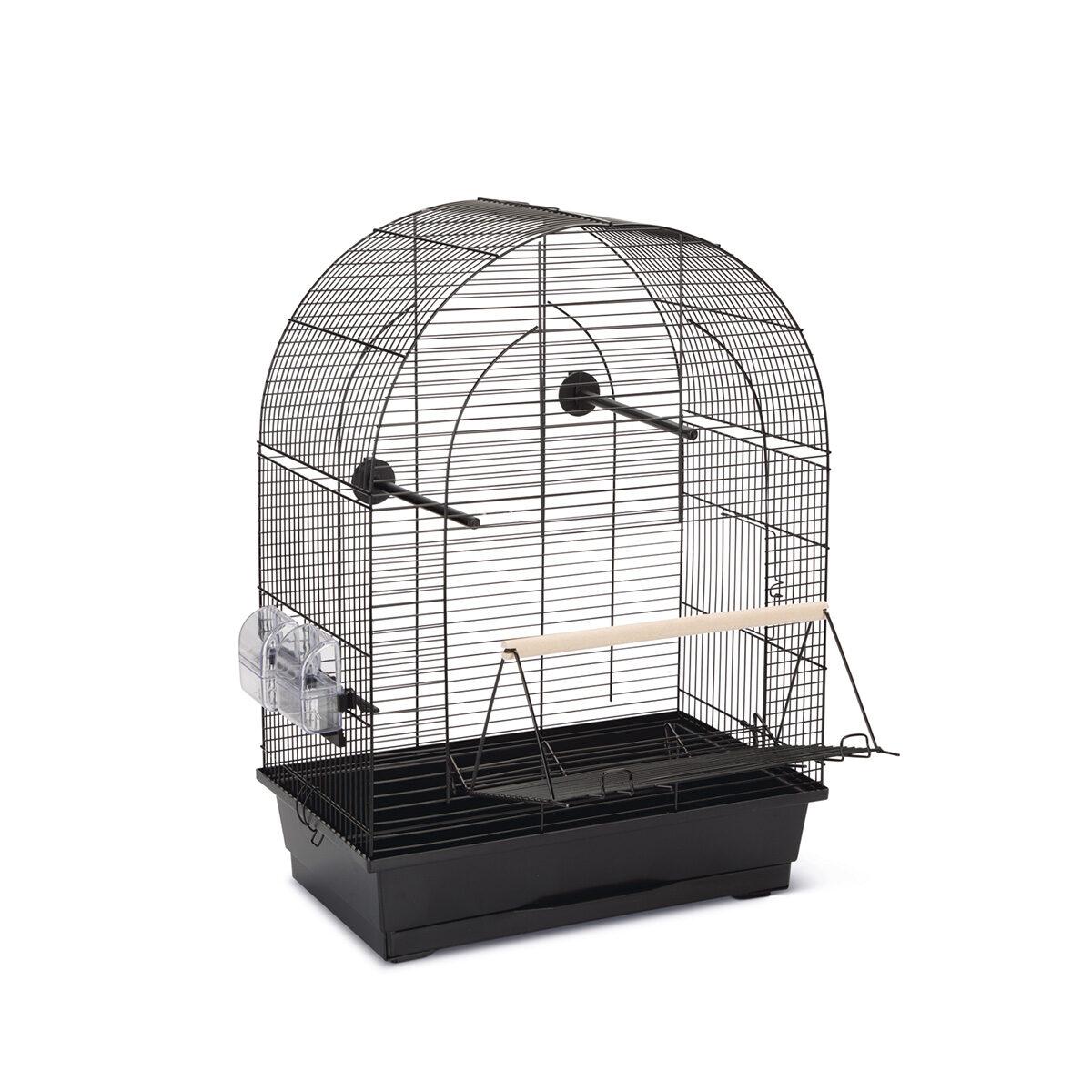 Vogelkooi Lucie 2 45x28x63cm Zwart