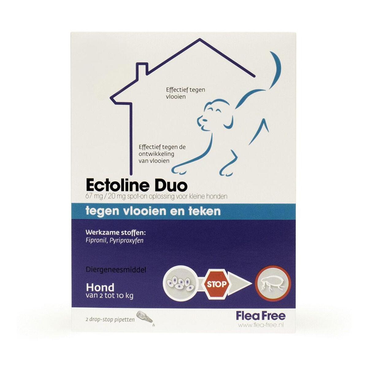 Ectoline Duo Hond 2 Pipetten 2-10 kg