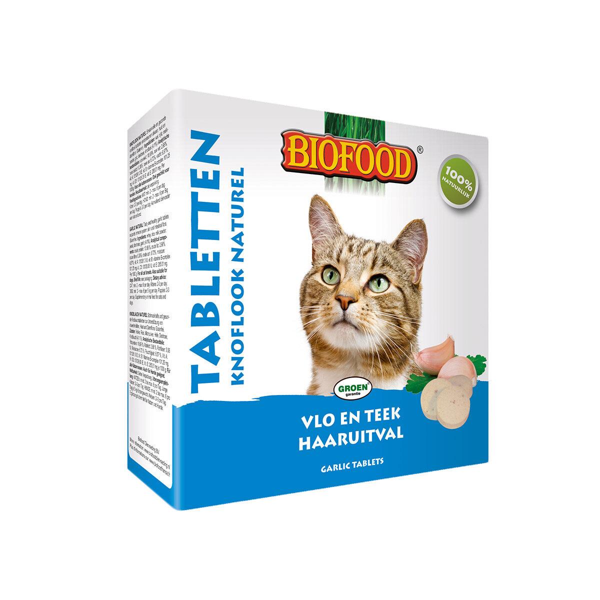 Biofood Kattensnoepjes Anti-Vlo Naturel 100stuks