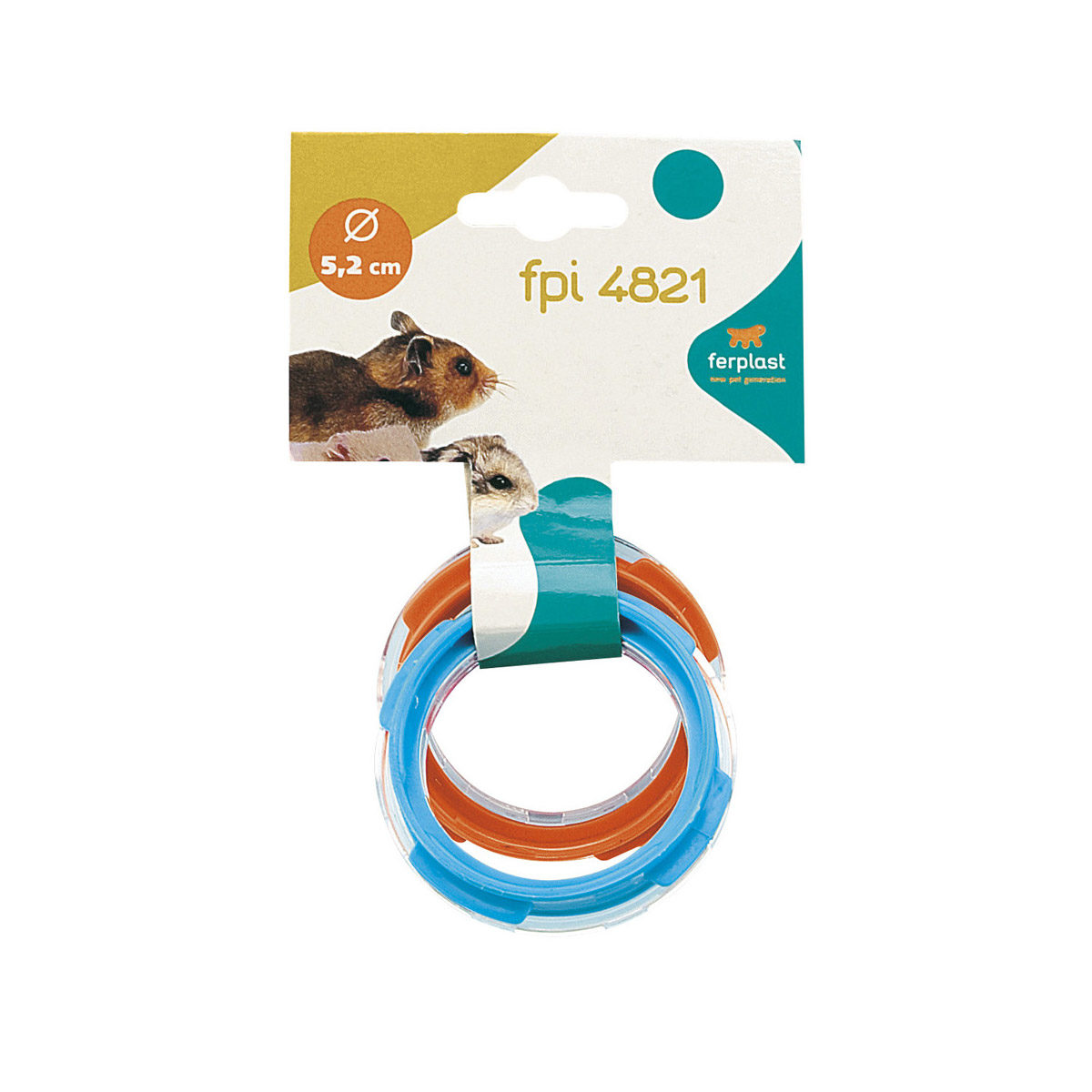 Ferplast Verbindingsring FPI 4821 Oranje&Blauw