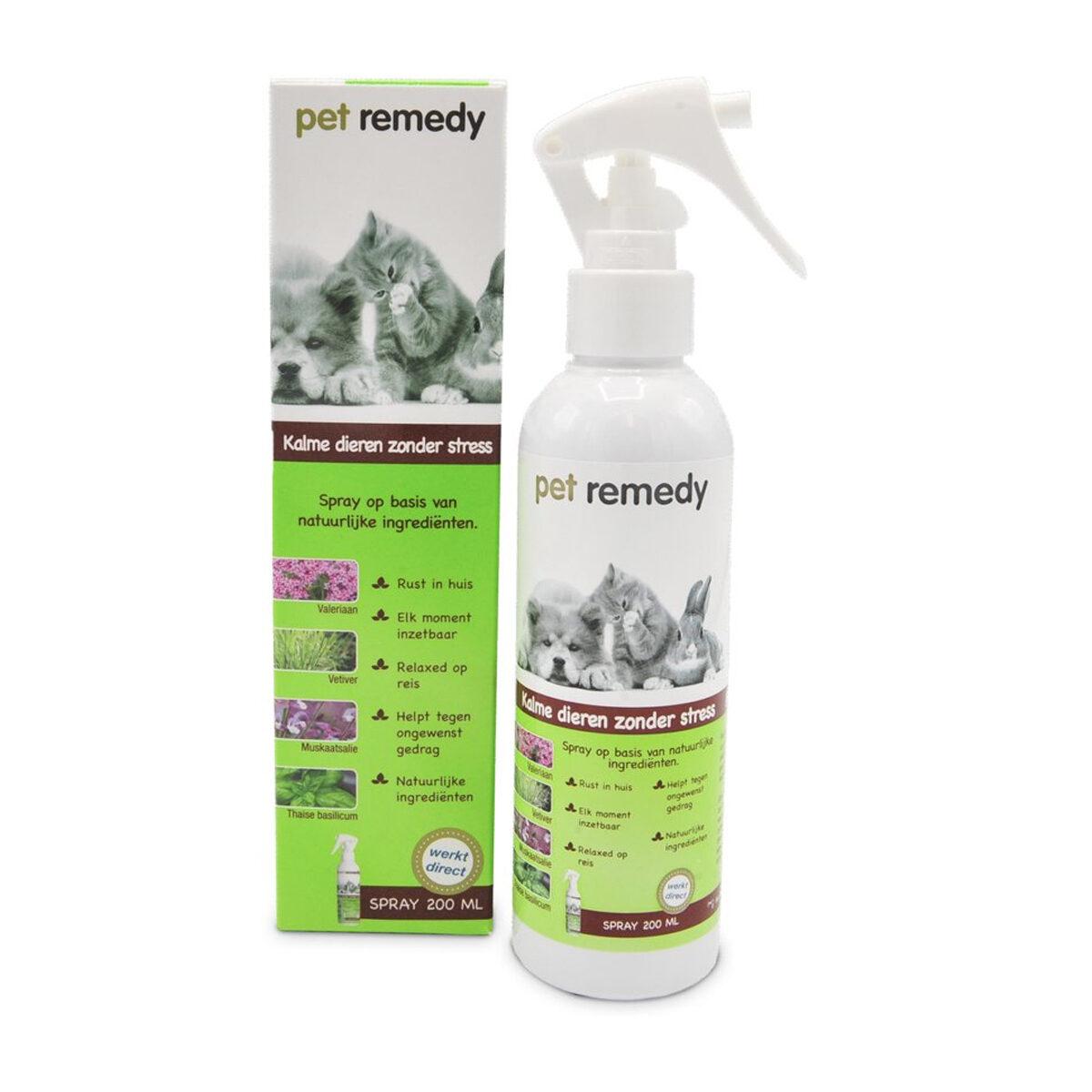 Pet Remedy Spray Anti Stressmiddel 200 ml