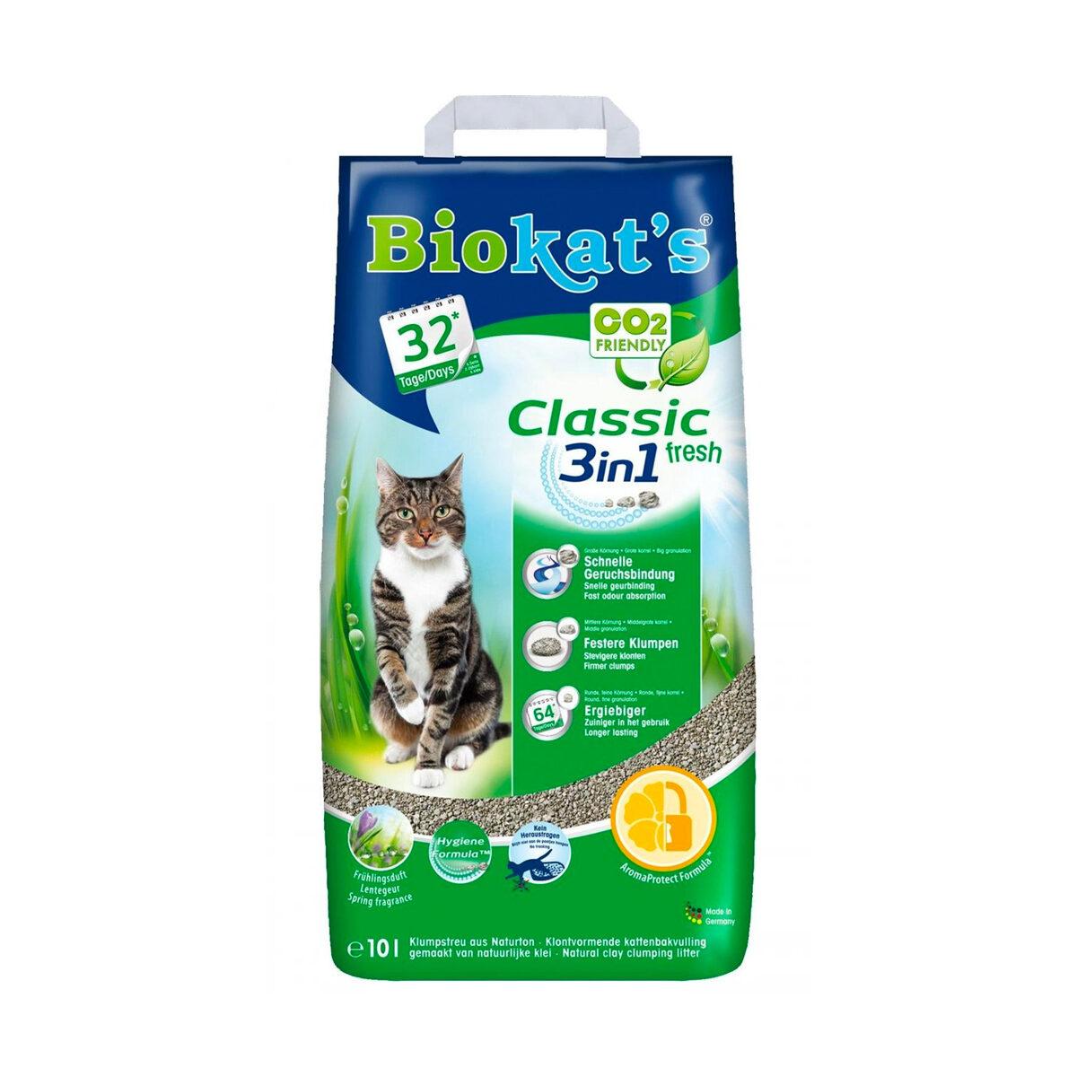 Biokat's Kattenbakvulling Classic Fresh 10ltr