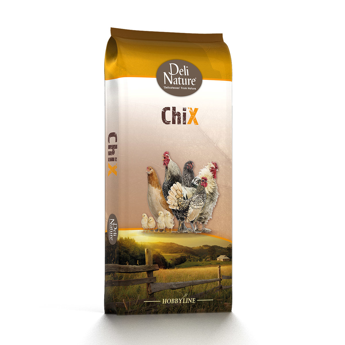 Deli Nature ChiX Leg-Pellet 20kg