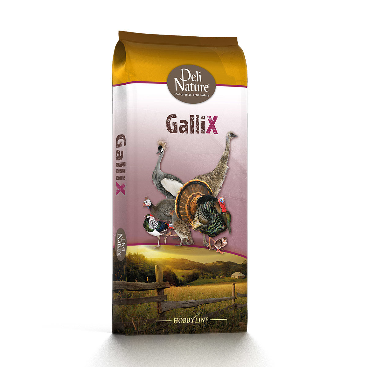 Deli Nature GalliX-Turkey-Groei-Pellet 20kg
