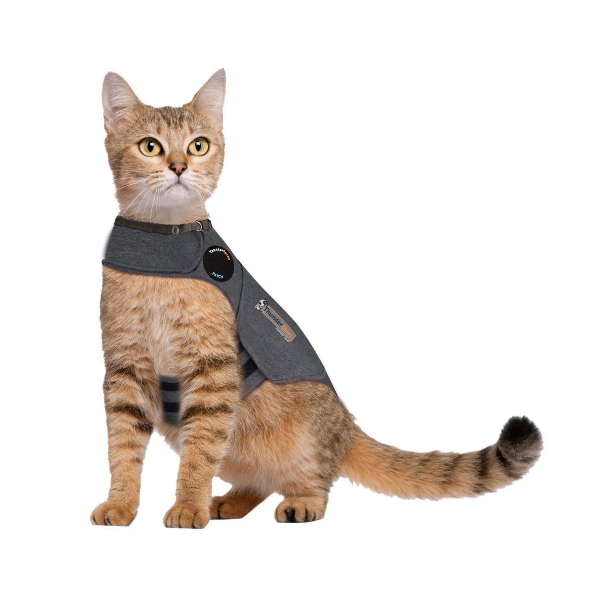 Thundershirt Antistress Vest Kat Grijs L 41-58cm