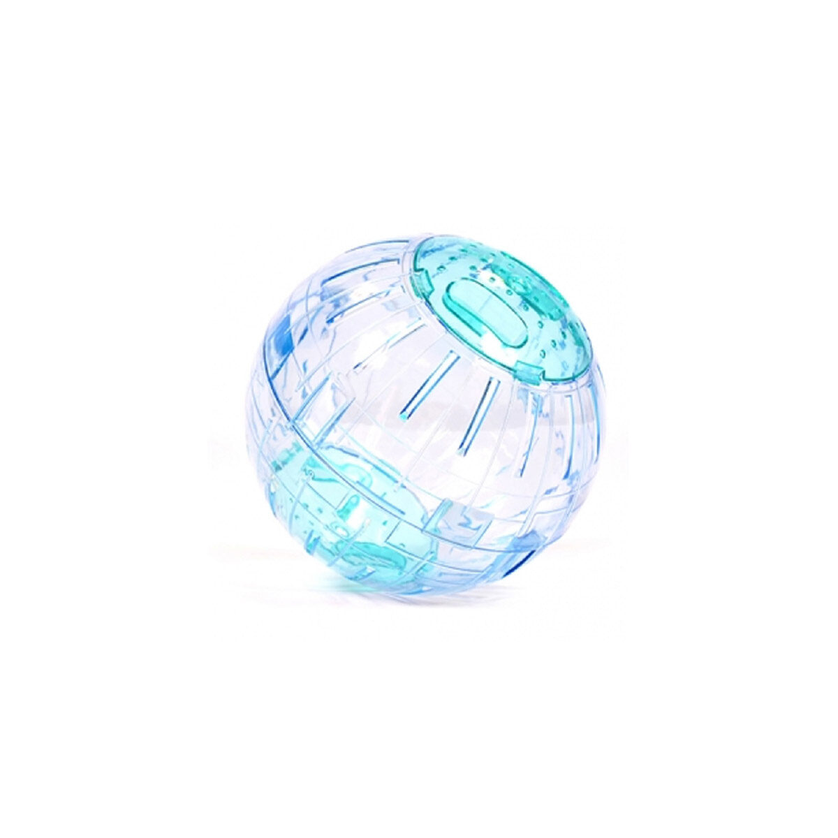 Duvo+ Hamsterbal Blauw 13 cm - in Rennen