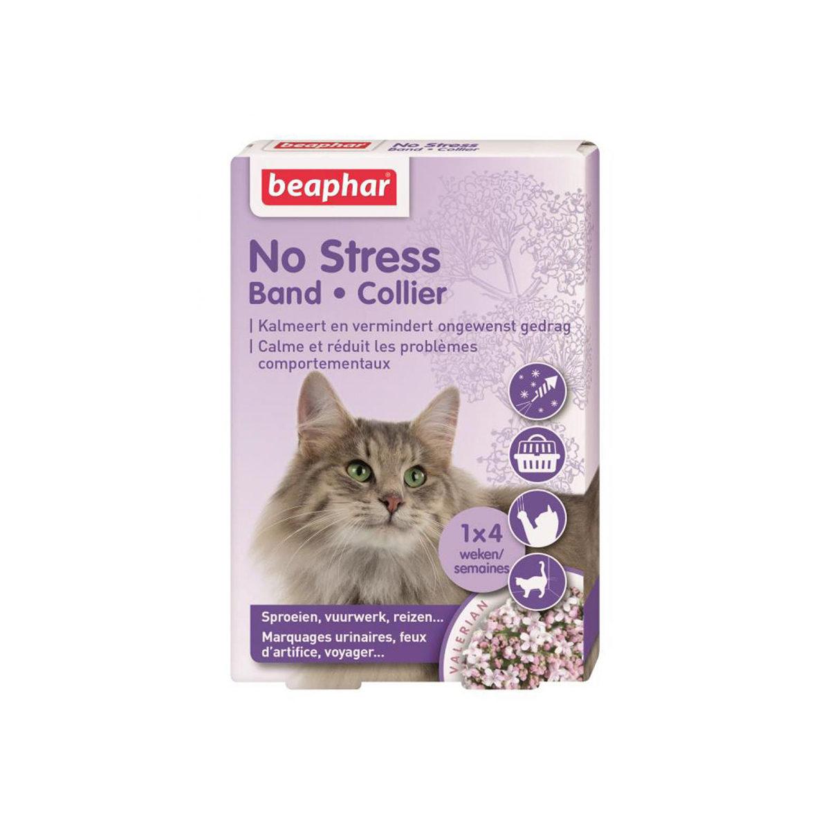 Beaphar No Stress Band Kat - in Tuigjes & Halsbanden