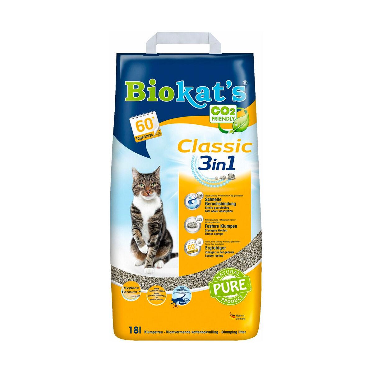 Biokat's Kattenbakvulling Classic 18liter