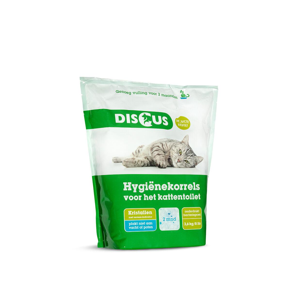 Discus Crystals Hygiënekorrels 3,62 kg