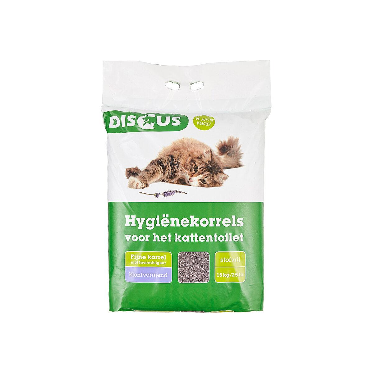 Discus Fine Grain Hygiënekorrels Clumb-Lavendel 15kg