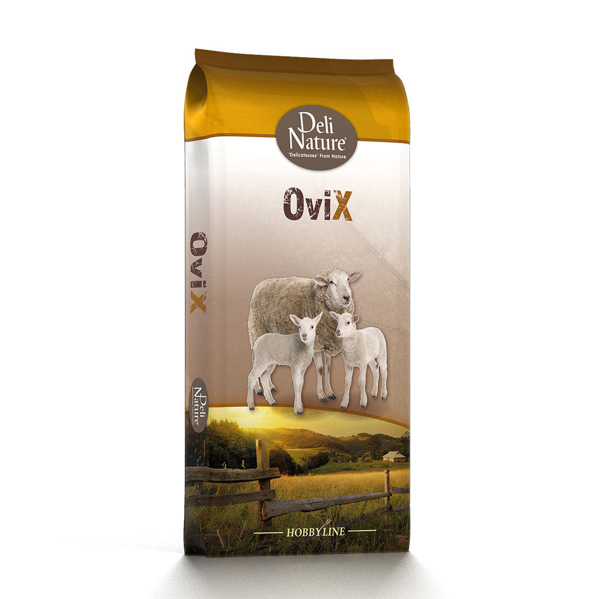 Deli Nature Krachtvoeding OviX-Onderhoud-Pellet 20kg
