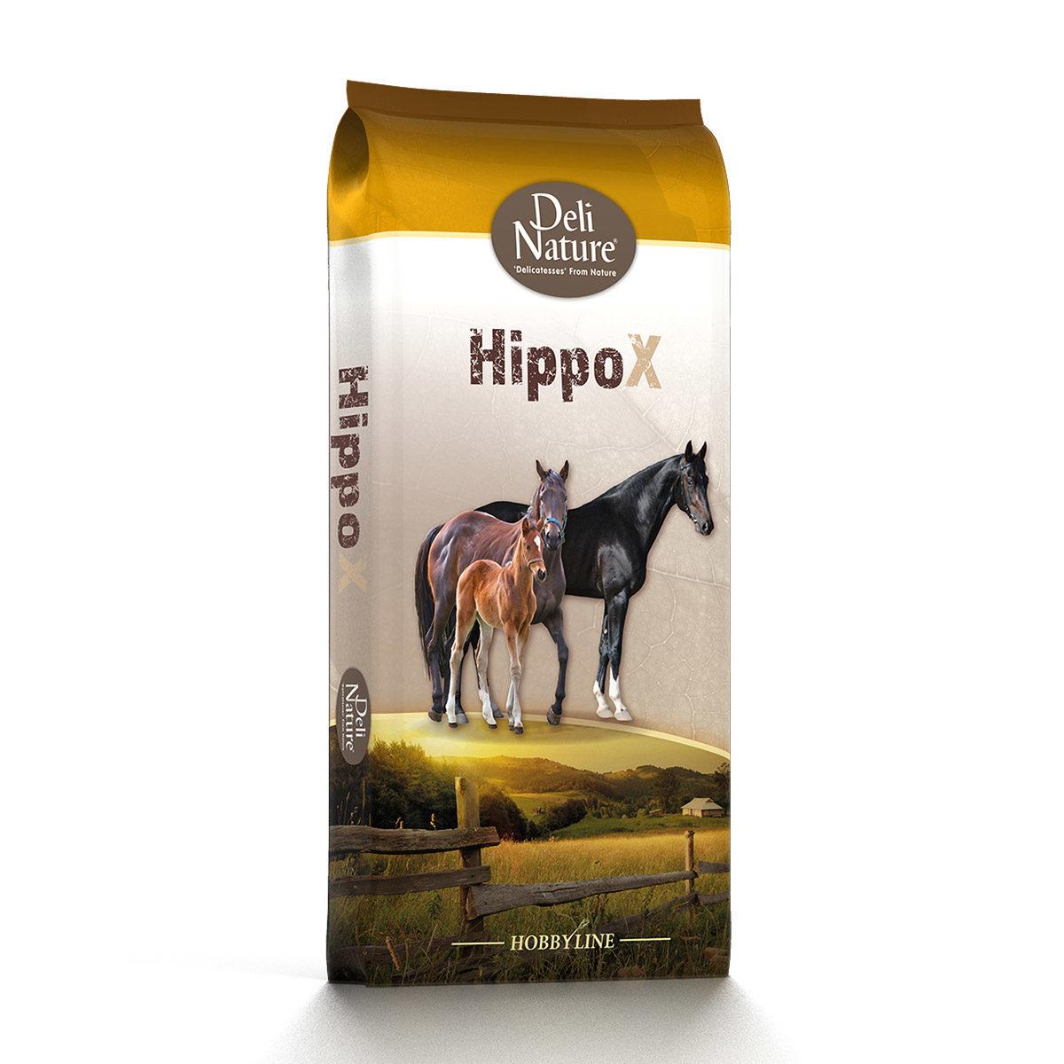 Deli Nature Onderhoudsvoer HippoX-Tradition-Pellet 20kg