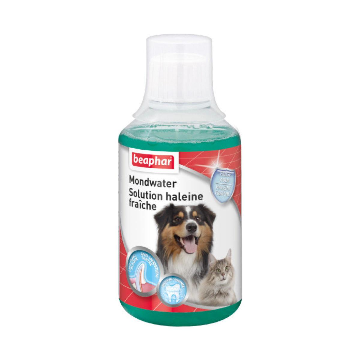 Beaphar Mondwater Hond en Kat 250 ml