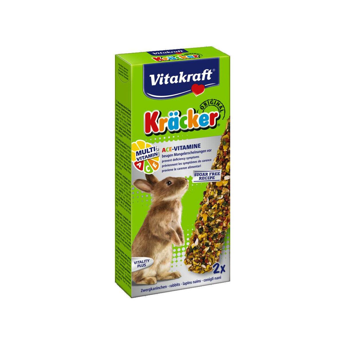 Vitakraft Kräcker Konijnensnack 2-in-1 Multi-Vitamine