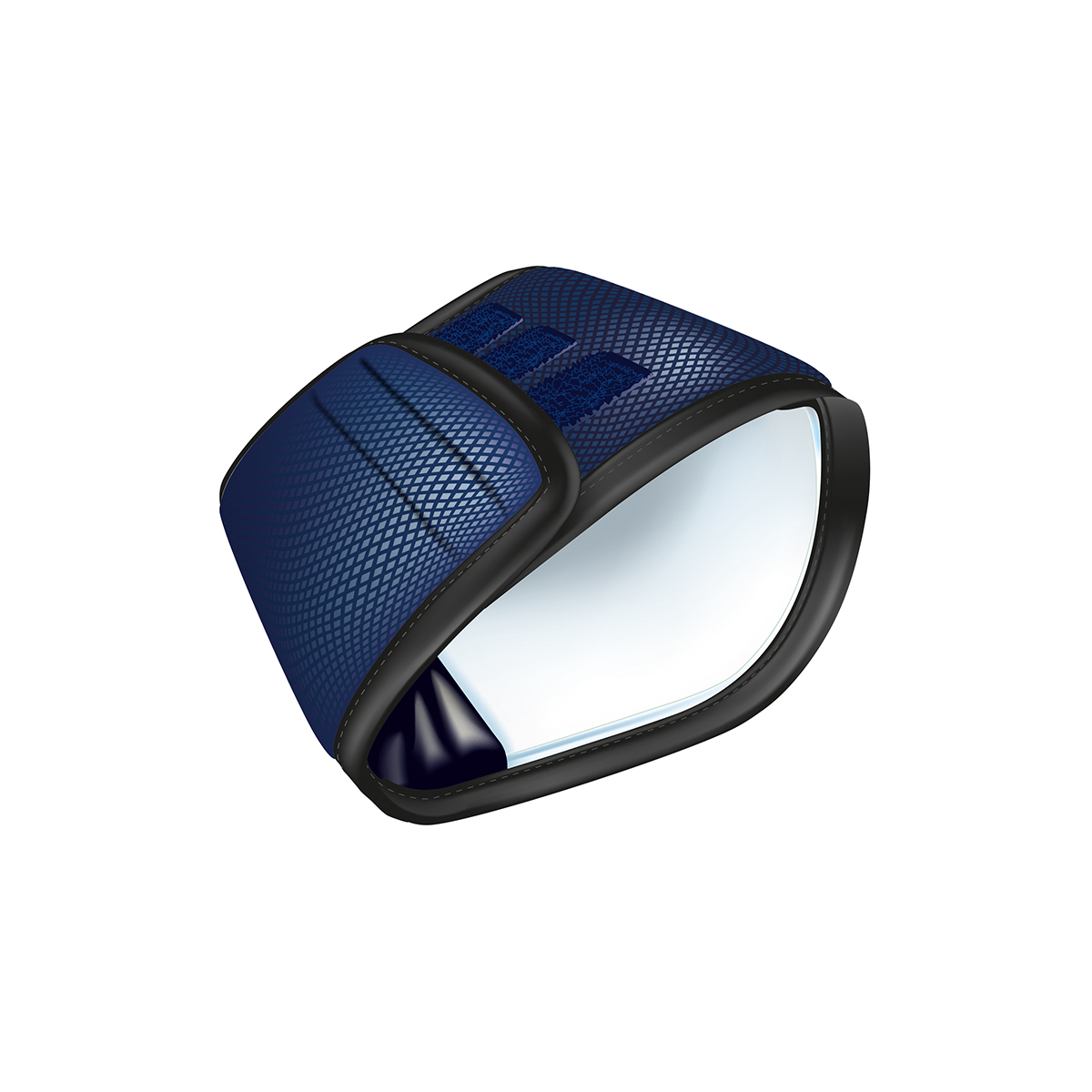 Trixie Plasband voor Reuen Donkerblauw S-M 37-45cm