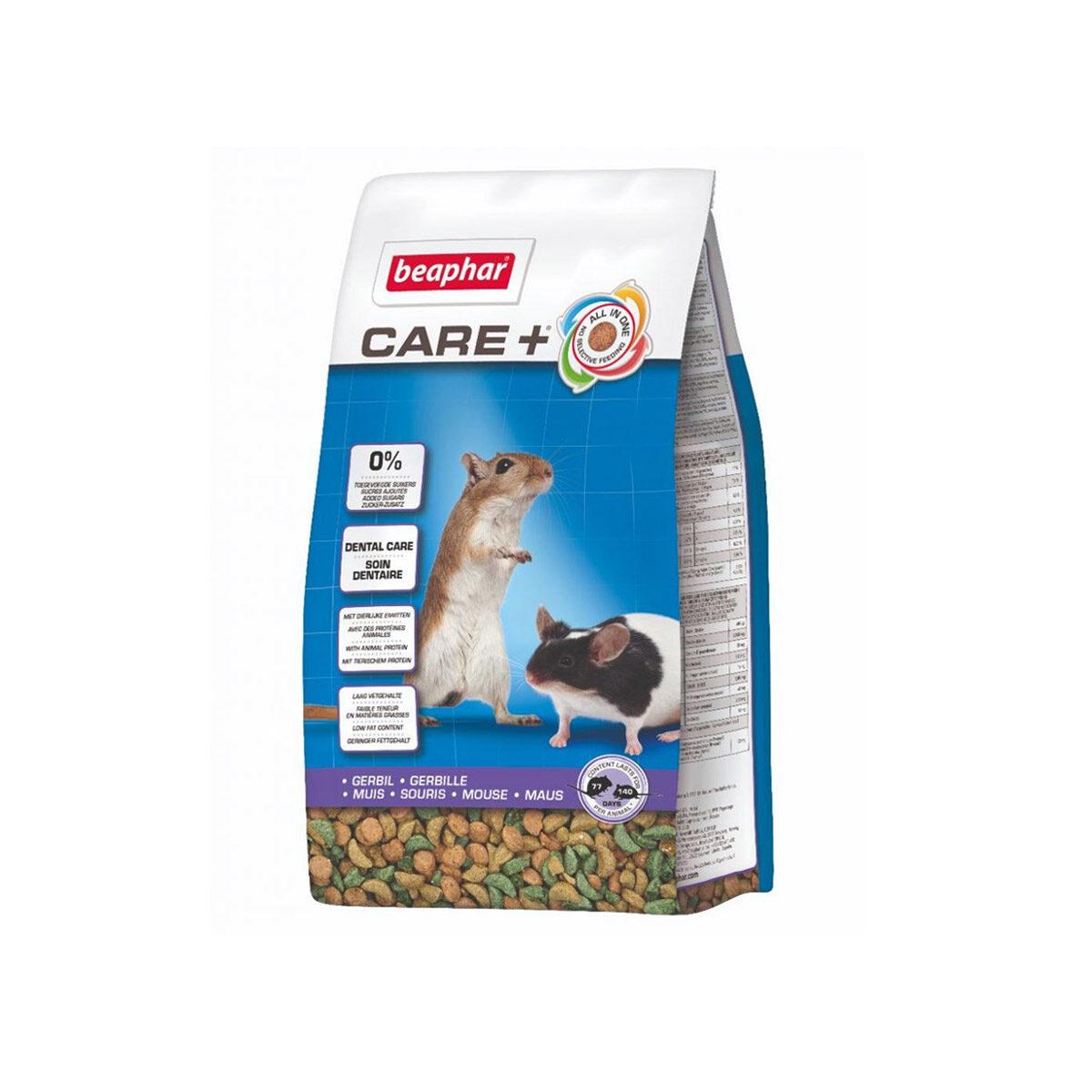 Care+ Gerbilvoer 700 gr