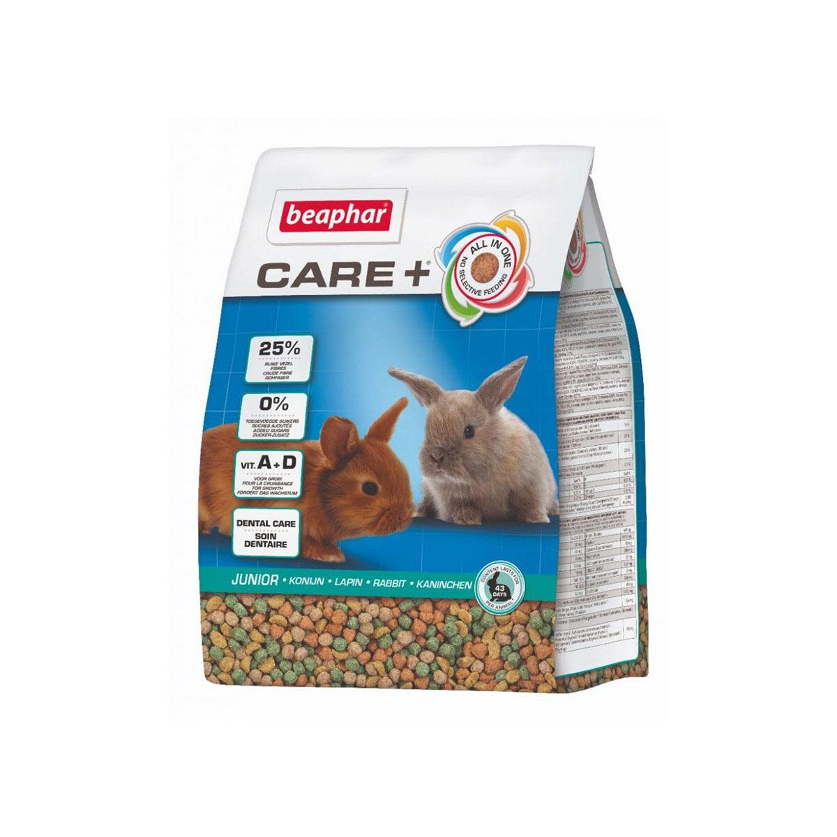 Care+ Konijnenvoer Junior 1,5 kg