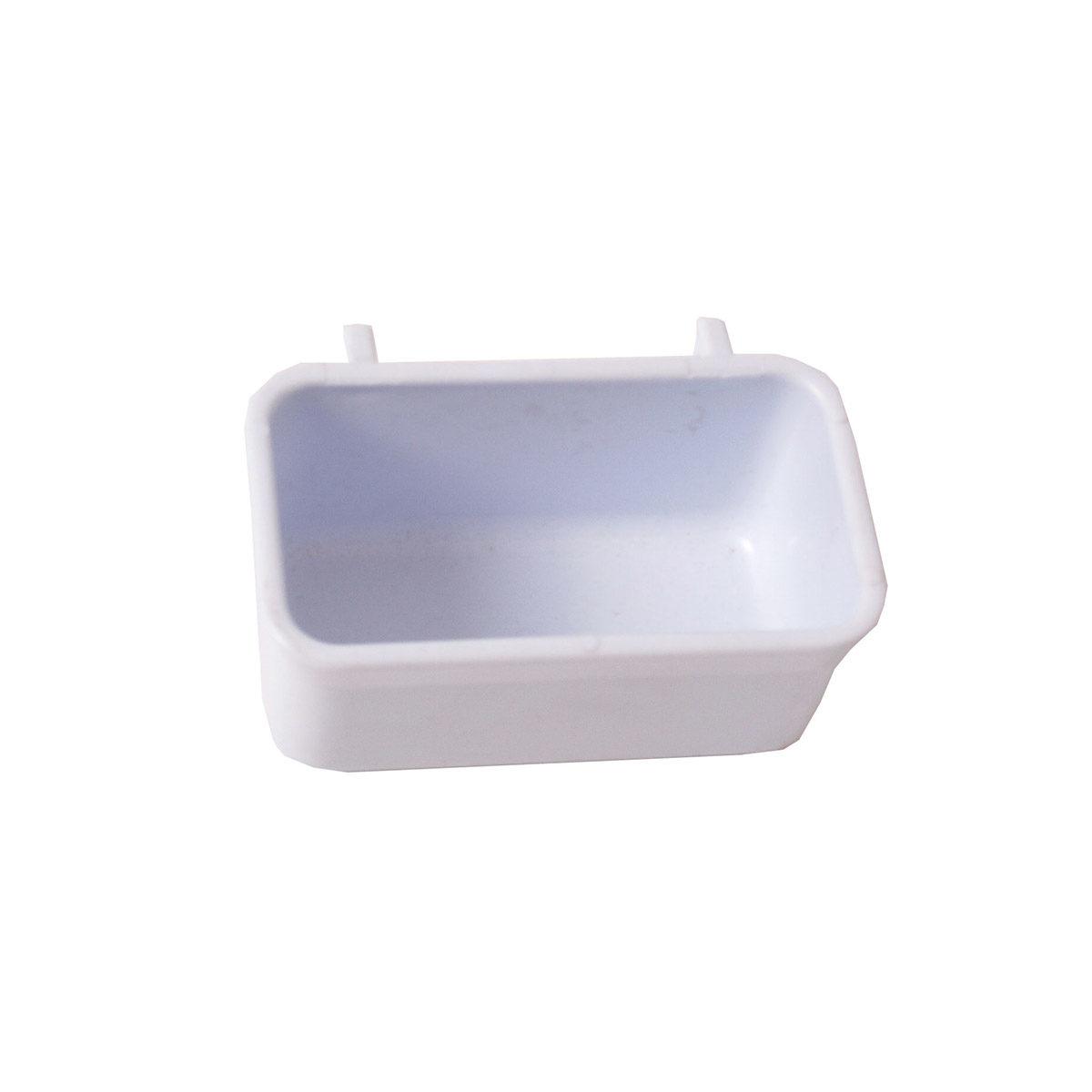 Voerbakje 053 Plastic Wit - in Voerbakken & Drinkflessen